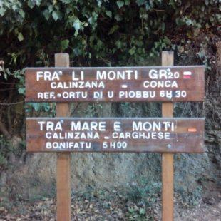 Au départ de Calenzana