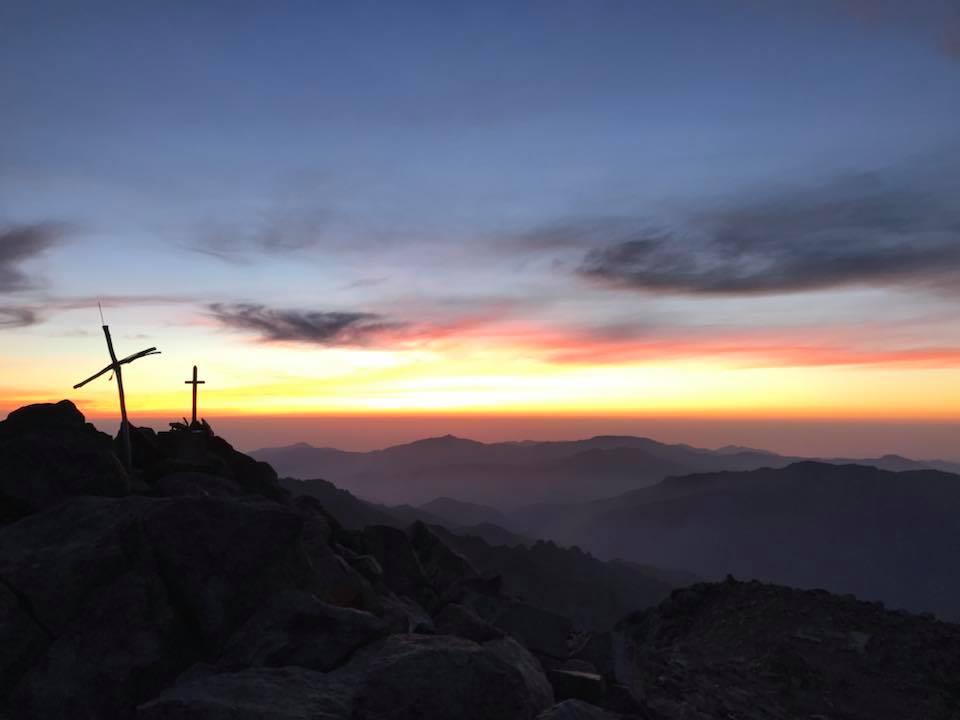 Sommet du Monte Cinto