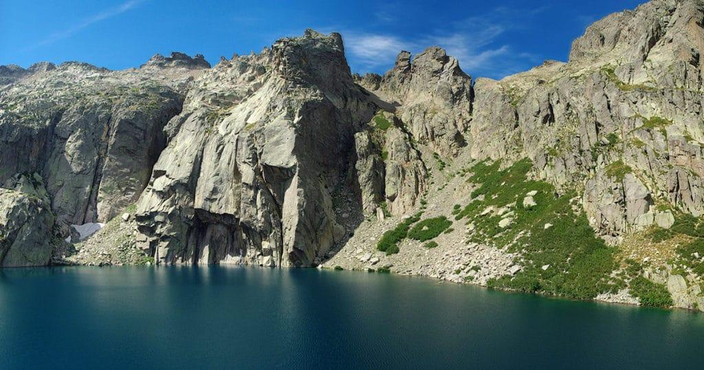 Les deux lacs de montagne