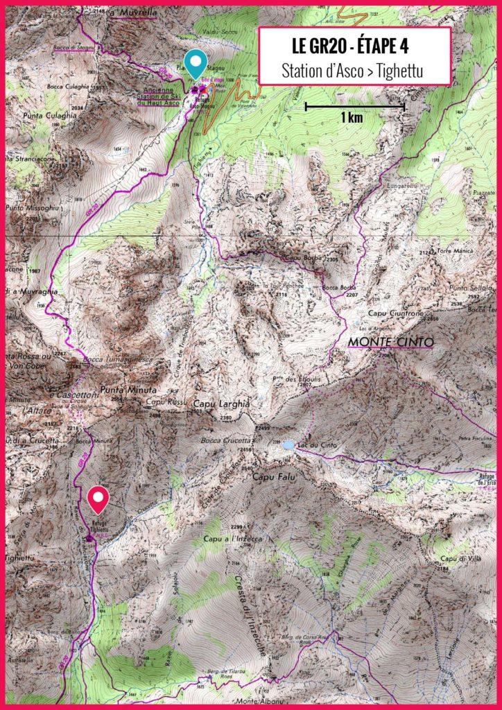 GR 20 - Refuge d'Asco-Étang