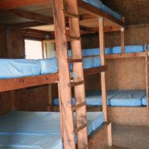 L'intérieur du refuge de Prati