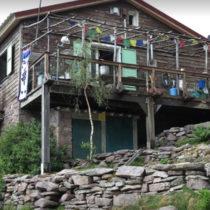 Le refuge d'Ortu, le premier dans le sens Nord Sud