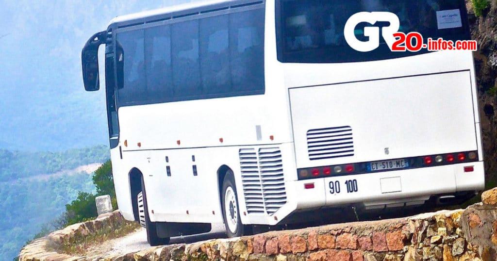 autobus en Corse
