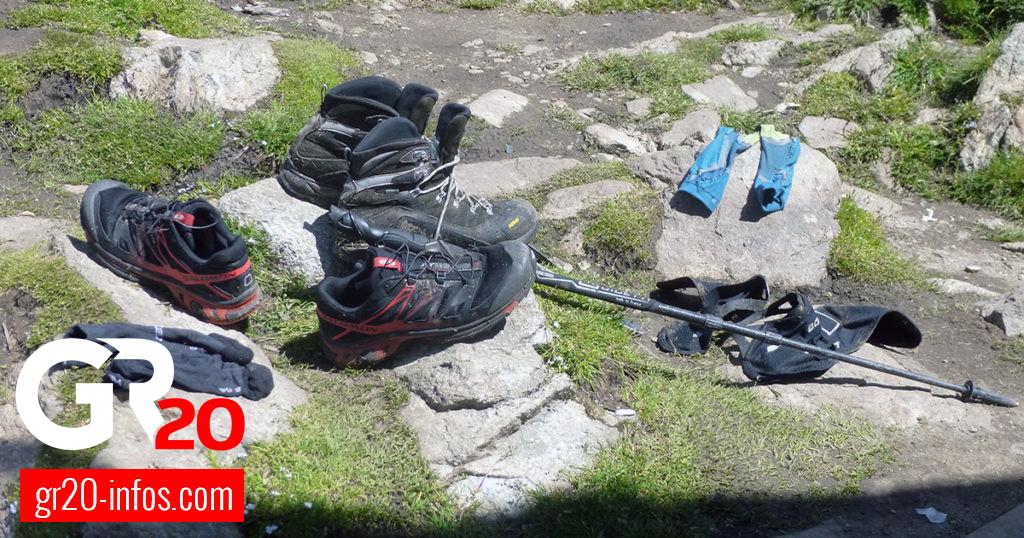 GR 20 - Chaussure