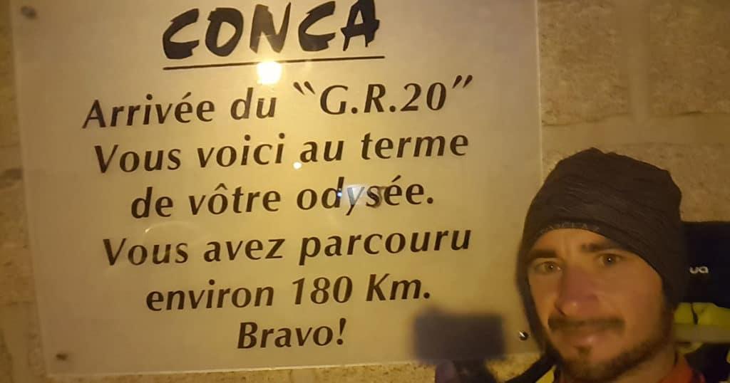 GR 20 - Bassin