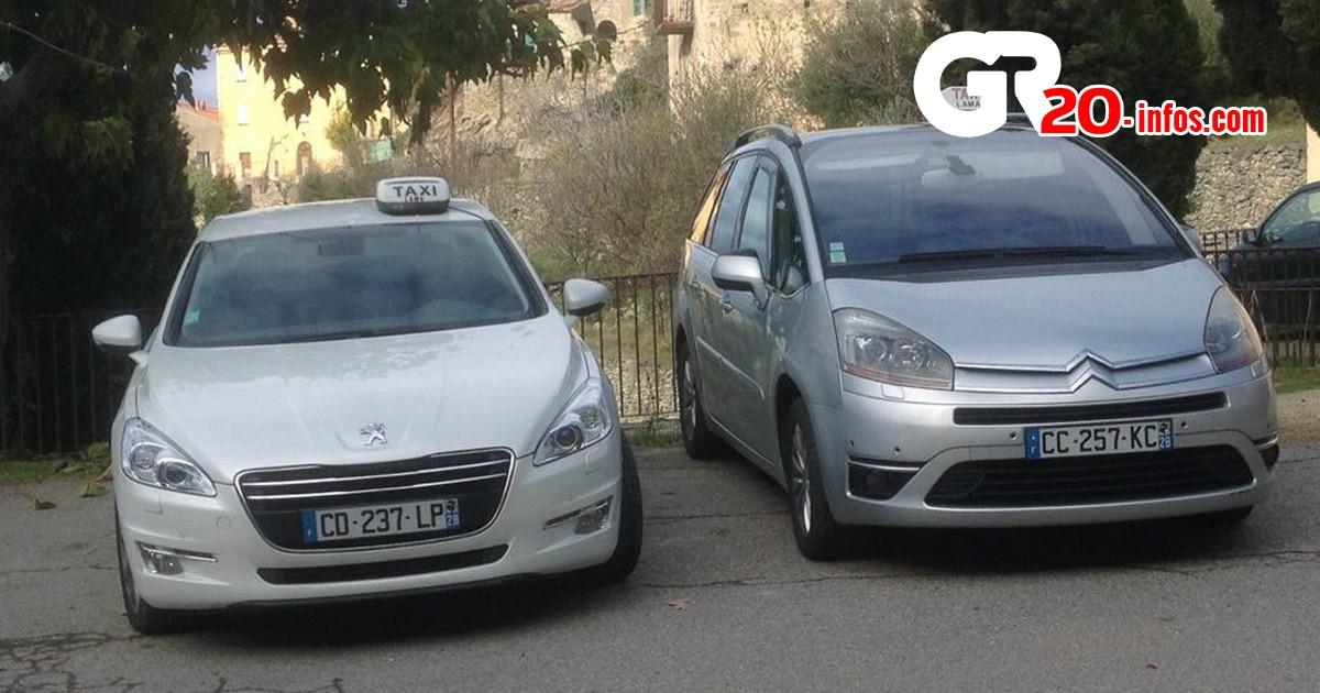 taxi en Corse