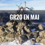 Quelle météo sur le GR20 au mois de mai ?