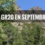 Quelle météo sur le GR20 au mois de septembre ?