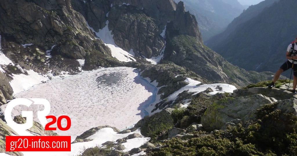 Lac de Mélo en hiver