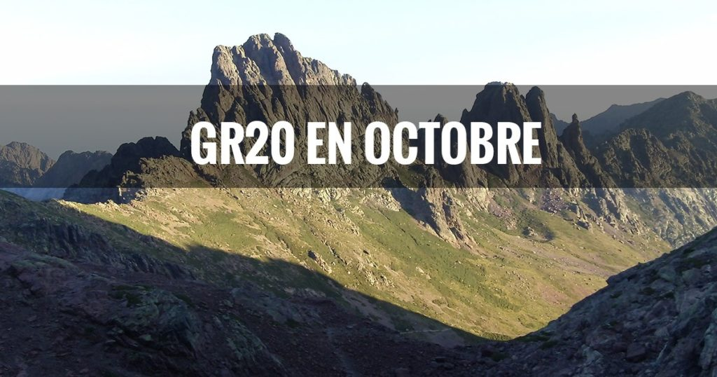 GR 20 - Orage Adrien