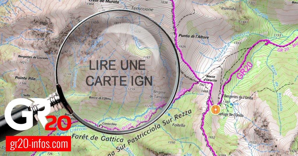 Institut national de l'information géographique et forestière - Carte