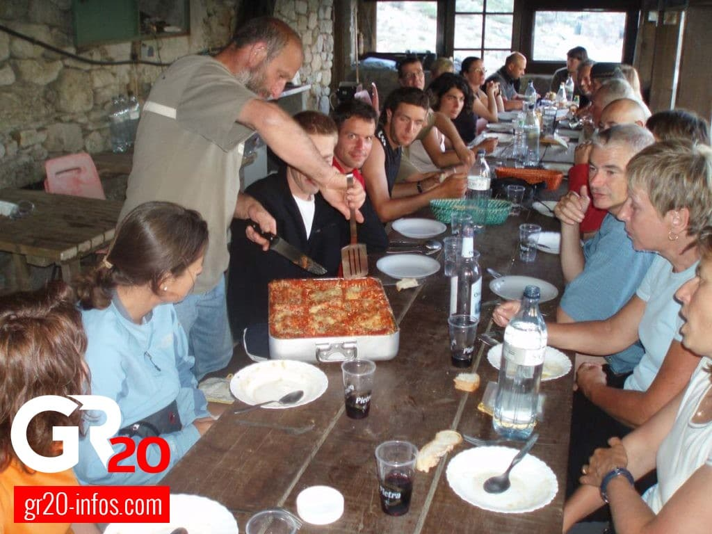 GR 20 - Cuisine
