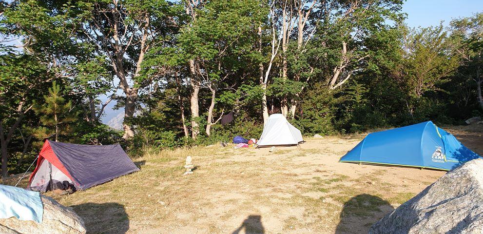 Camping - GR 20