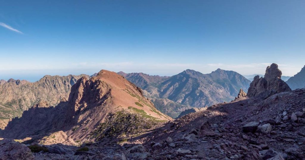 pente du Monte Cinto