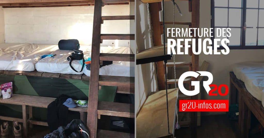 fermeture refuge GR20