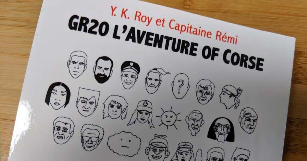 livre de rémi du GR20